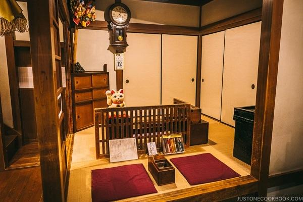 interior of a house - Tokyo Shitamachi Museum Guide | www.justonecookbook.com