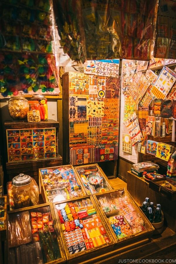 interior of a candy shop - Tokyo Shitamachi Museum Guide | www.justonecookbook.com