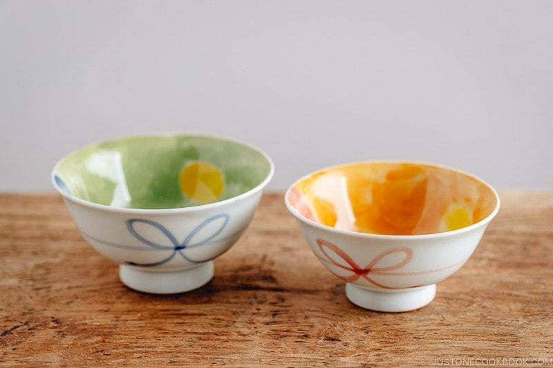 Ochawan, rice bowls