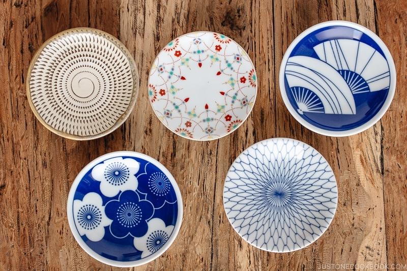 Tiny plates - Mamezara