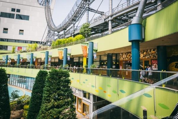 restaurant floor - Tokyo Dome City | www.justonecookbook.com
