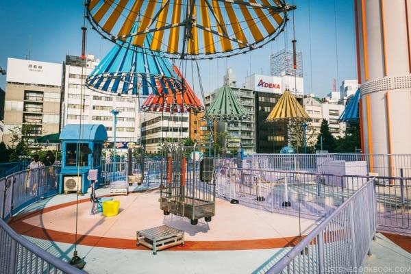 sky flower ride - Tokyo Dome City | www.justonecookbook.com