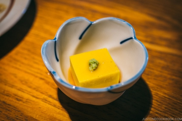 daily appetizer at shunpu banri restaurant - Tokyo Dome City | www.justonecookbook.com