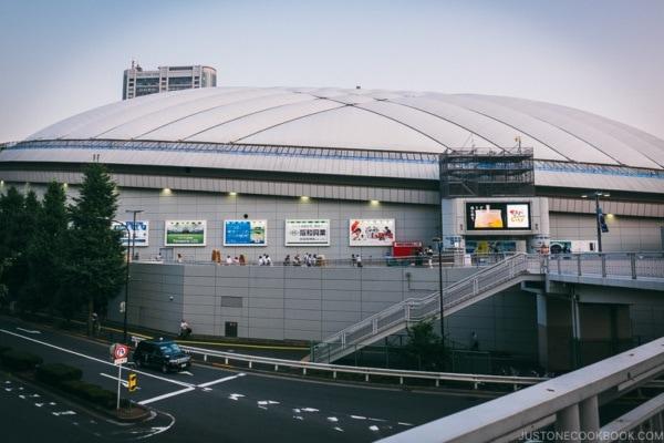 Tokyo Dome - Tokyo Dome City | www.justonecookbook.com