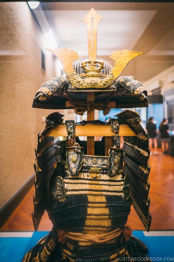 antique samurai gear - Tokyo National Museum Guide | www.justonecookbook.com