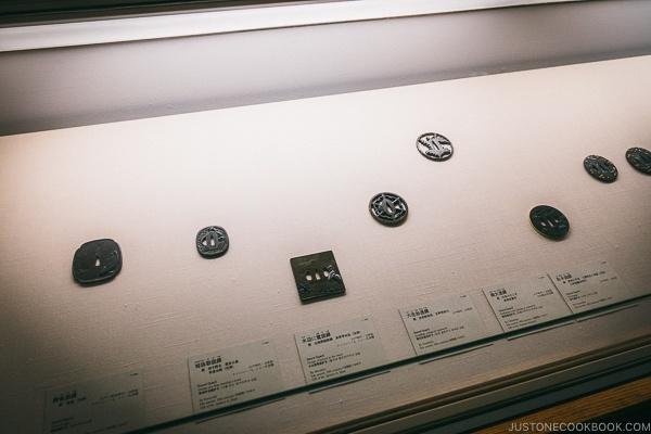 sword guard - Tokyo National Museum Guide | www.justonecookbook.com