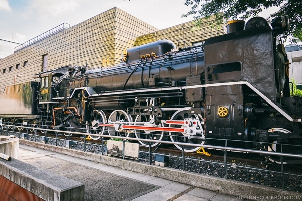 D51 Steam Locomotive - Tokyo National Museum of Nature and Science Guide | www.justonecookbook.com