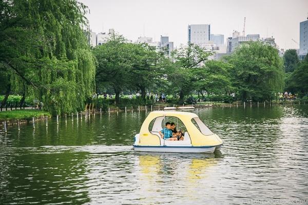 Just One Cookbook children boating in Ueno Park - Tokyo Ueno Travel Guide | www.justonecookbook.com
