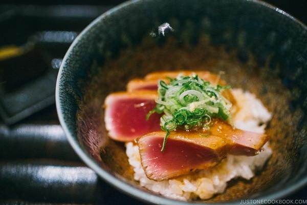 tuna - Wakuriya Restaurant Review | www.justonecookbook.com