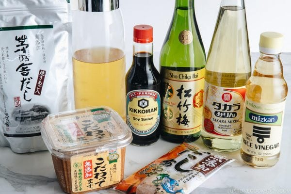 japanese cooking ingredients and pantry essentials