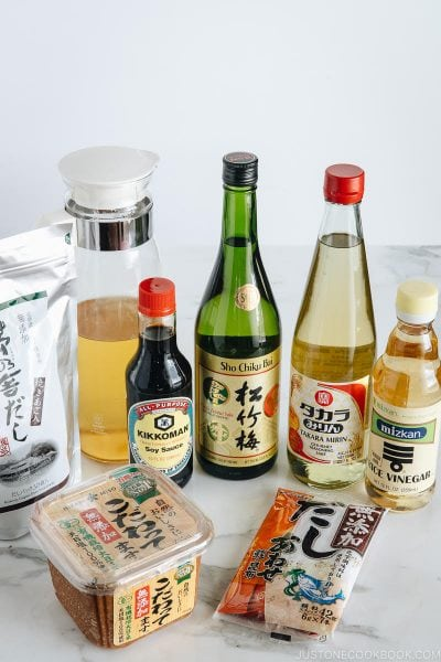 6 Must-Have Condiments to Make Your Favorite Japanese Food