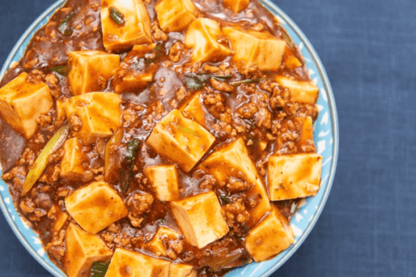 Japanese mapo tofu recipe on Tofu Ryori cookbook
