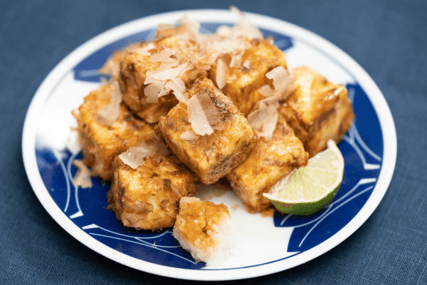 tosayaki recipe on Tofu Ryiori cookbook