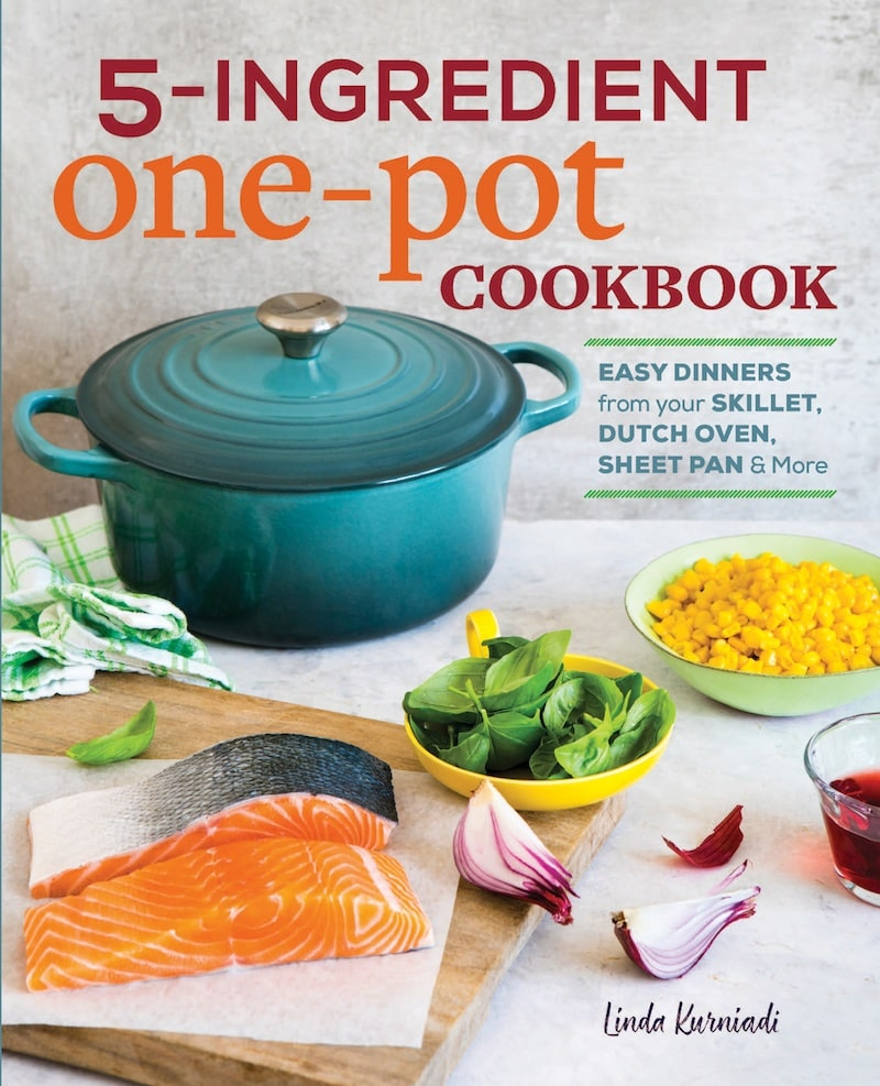 5 ingredient one pot cookbook giveaway on JustOneCookbook.com