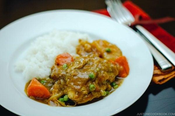 Chicken Curry | www.justonecookbook.com