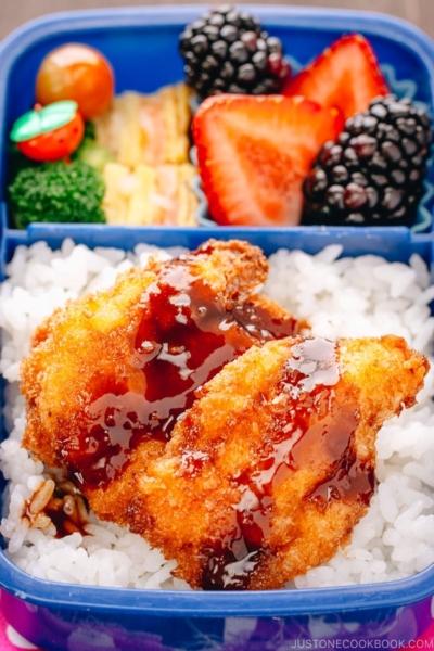 Chicken Katsu Bento | www.justonecookbook.com