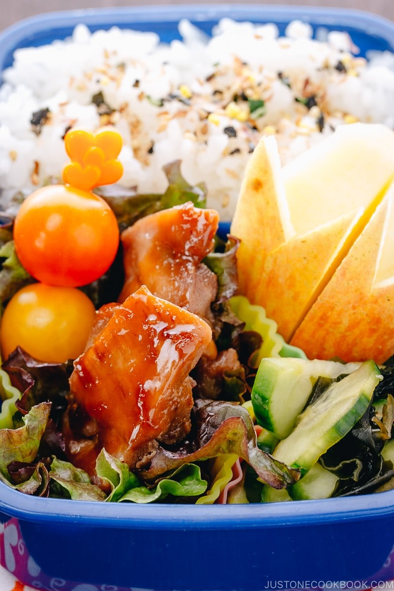 Chicken Teriyaki Bento | www.justonecookbook.com