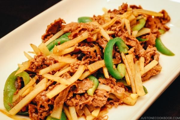 Chinese Pepper Steak | www.justonecookbook.com