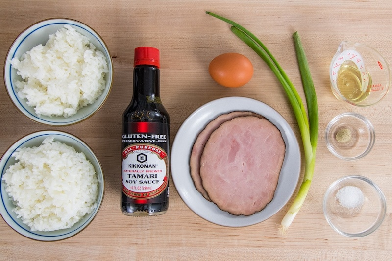 Easy Fried Rice Ingredients