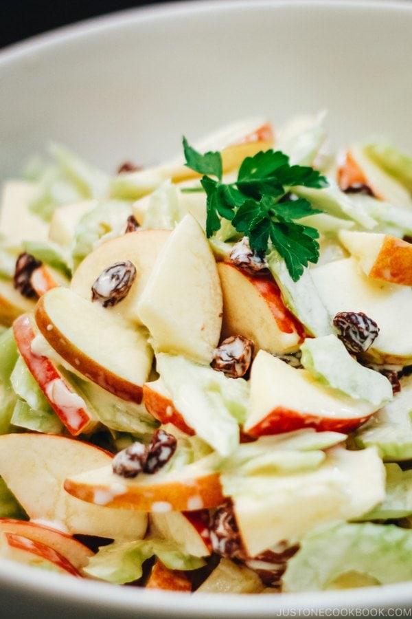 Japanese Apple Salad | www.justonecookbook.com