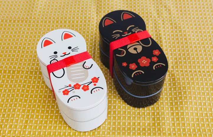 Bento&Co Maneki-Neko Doll bento boxes giveaway on Just One Cookbook