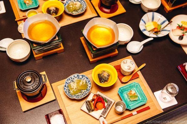 Osaka Arima Onsen Ryokan Dinner | www.justonecookbook.com