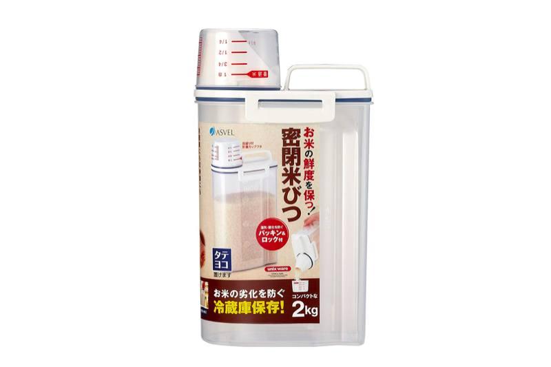 best rice storage bin