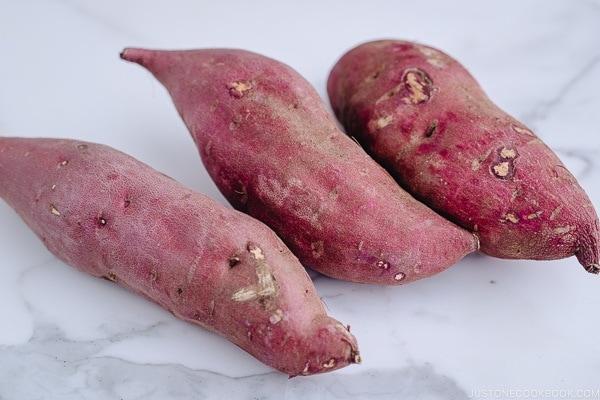 Satsumaimo (Japanese sweet potatoes) | Easy Japanese Recipes at JustOneCookbook.com