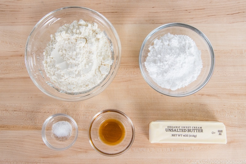 Sweet Tart Crust Ingredients