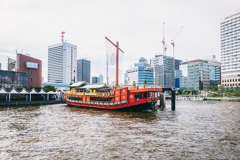 Gozabune Atakemaru Samurai Cruise - Tokyo Cruise | www.justonecookbook.com
