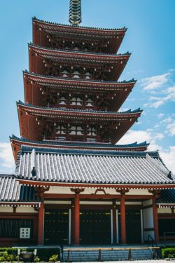 Sensō-ji Pagoda - Tokyo Asakusa Travel Guide | www.justonecookbook.com