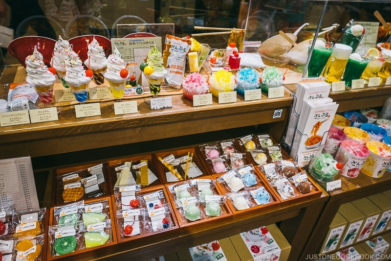 fake food sampuru store at Tokyo Skytree Town - Tokyo Skytree Guide | www.justonecookbook.com