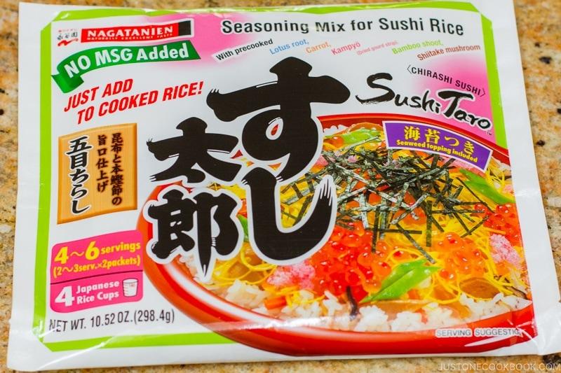 chirashi sushi mix | www.justonecookbook.com