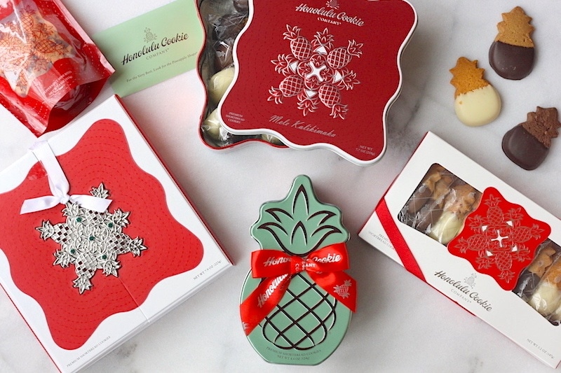 honolulu cookies Mele Kalikimaka holiday collection