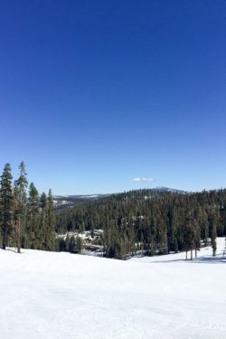 ski slope Yosemite National Park | www.justonecookbook.com