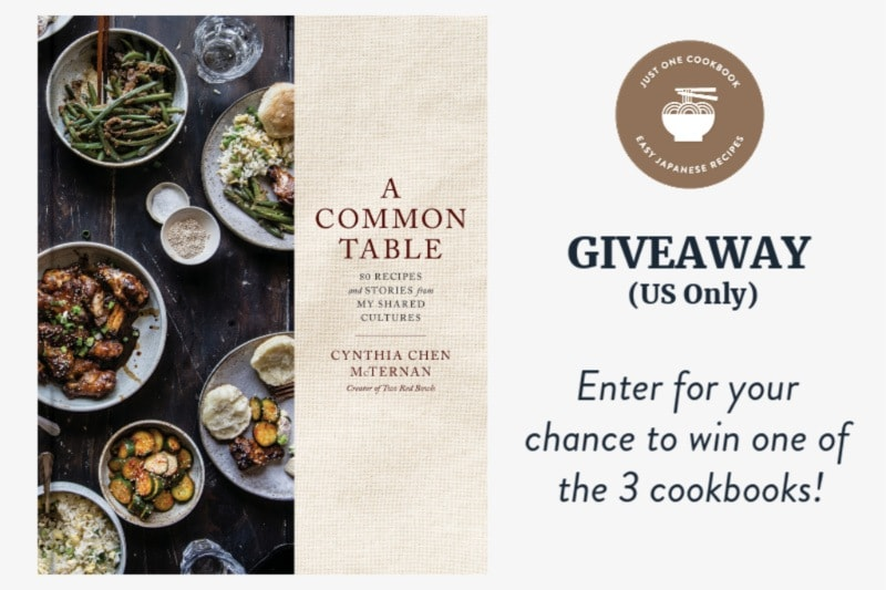 'A Common Table: 80 Recipes and Stories from My Shared Cultures' Cookbook Giveaway (US only)