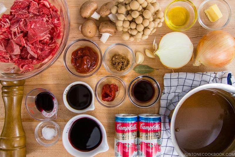 Hayashi Rice Ingredients