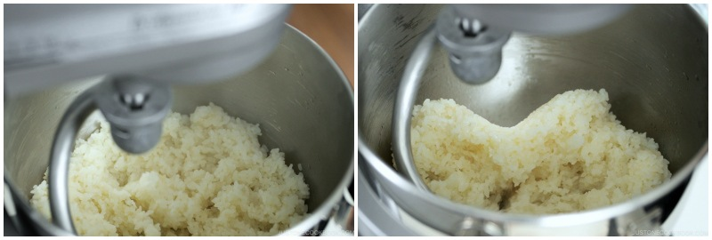 How to Make Mochi with a Stand Mixer 11