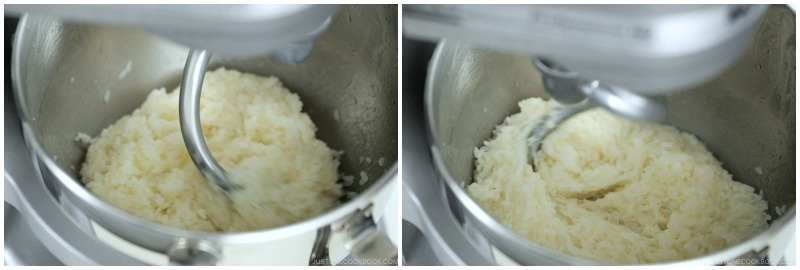 How to Make Mochi with a Stand Mixer 14