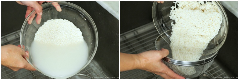 How to Make Mochi with a Stand Mixer 4