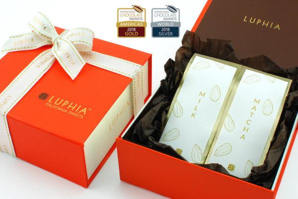 Luphia Sweets Gold & Silver Award Gift set