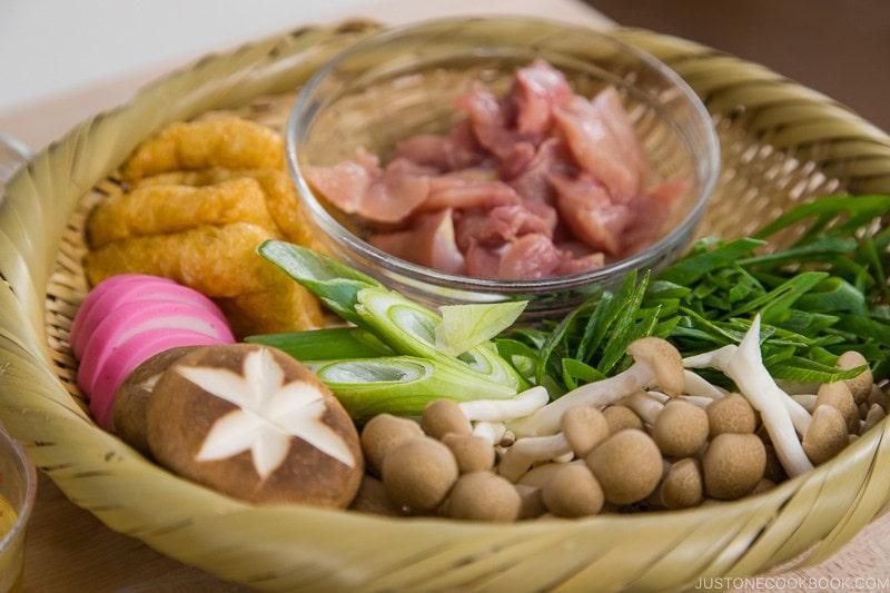 Miso Nikomi Udon Ingredients