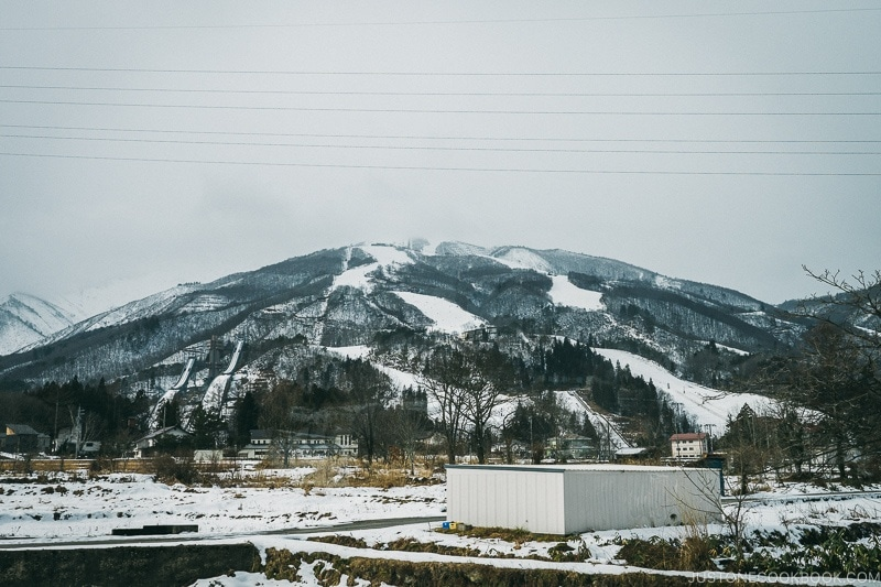 Hakuba Happo-One Snow Resort and ski jumps - Hakuba Travel and Ski Guide | www.justonecookbook.com