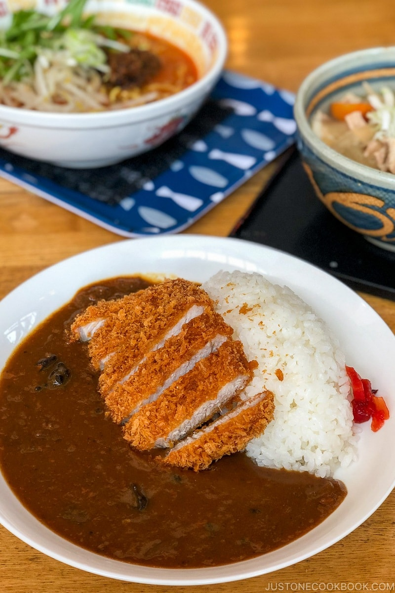 curry katsu at Cowbell Restaurant - Hakuba Travel and Ski Guide | www.justonecookbook.com