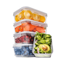Meap Prep Containers