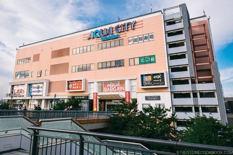 Aqua City Odaiba - Tokyo Odaiba Travel Guide | www.justonecookbook.com