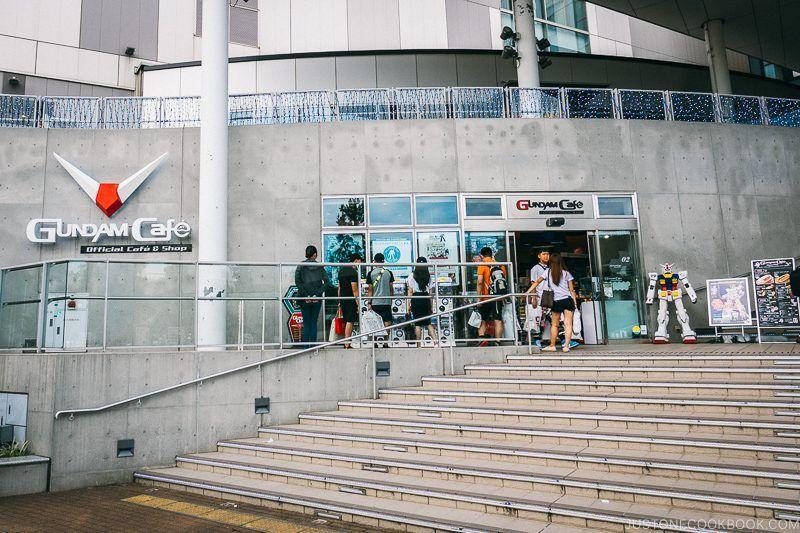 Gundam Cafe - Tokyo Odaiba Travel Guide | www.justonecookbook.com
