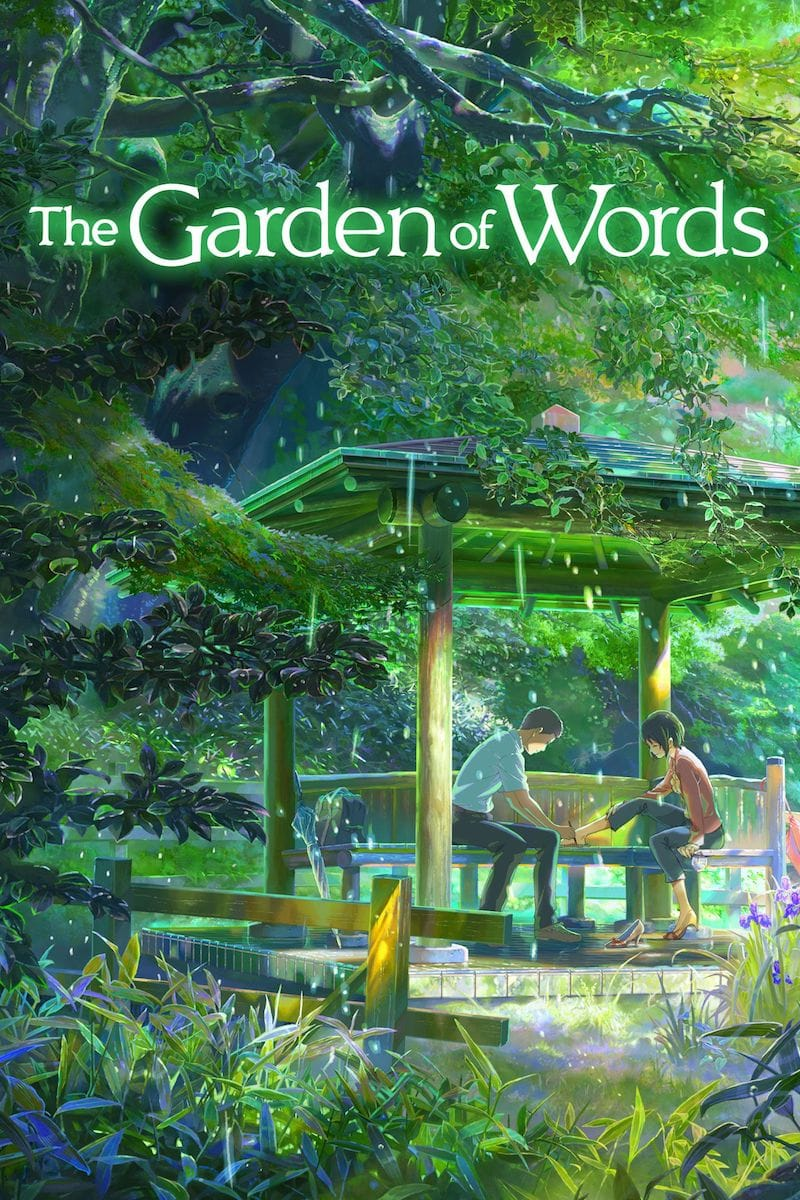 The Garden of Words by Makoto Shinkai_Japanese anime recommendations