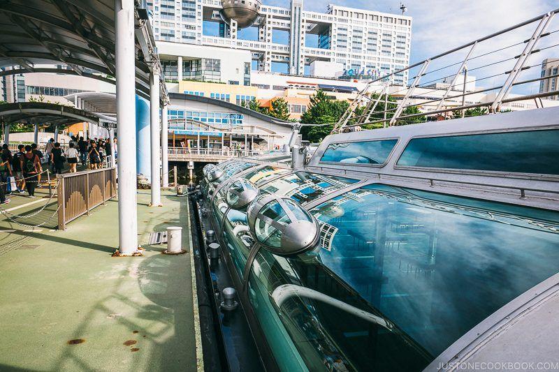 Tokyo Cruise HOTALUNA docked at Odaiba Sea Bus Station - Tokyo Cruise | www.justonecookbook.com