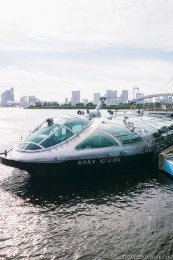 Tokyo Cruise HOTALUNA docked at Odaiba Pier - Tokyo Cruise | www.justonecookbook.com